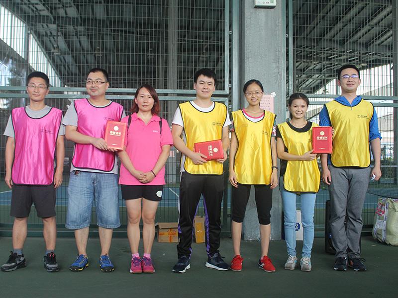 25乒乓球混双颁奖