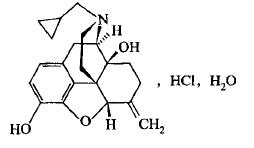 纳美芬分子结构图